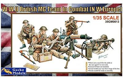 1/35 WWII British MG Team in combat
