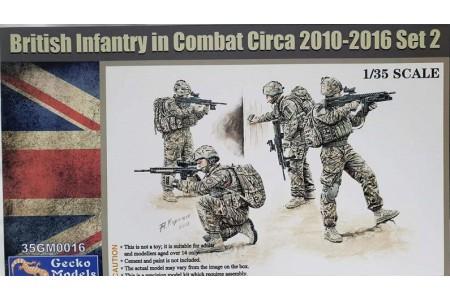 1/35 British infantry in combat 2010-2016 set 2
