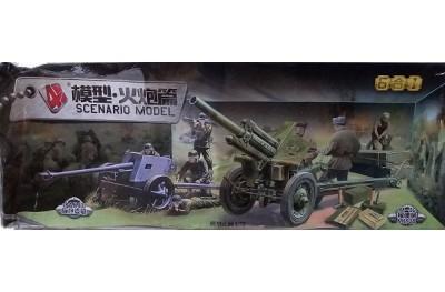 1/72 M-30 and PAK-40 howitzers w/ crew (6 kits)