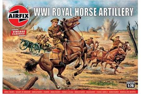 1/76 WWI Royal Horse artillery