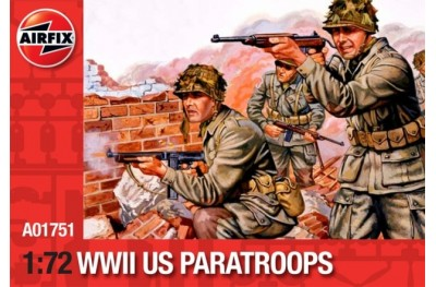 1/72 WWII US paratroops