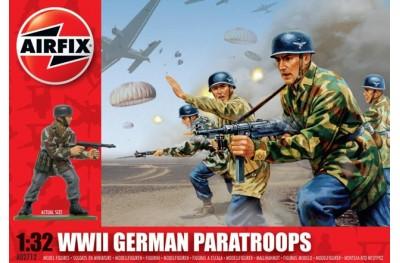 1/32 (1/35) WWII German paratroops