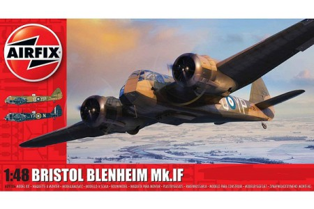 1/48 Bristol Blenheim Mk IF night bomber
