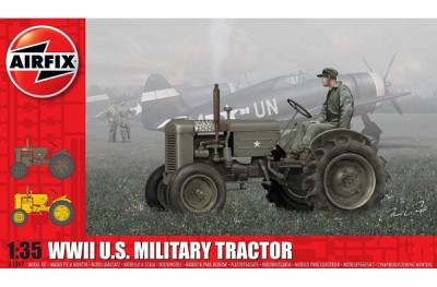 1/35 US military tractor WW2