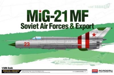 1/48 MiG-21MF Soviet AF and export