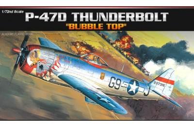 1/72 P-47D Thunderbolt Bubble top