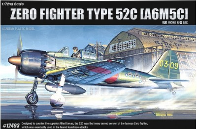 1/72 Zero fighter type 52C (A6M5C)