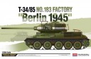 1/35 T-34/85 No. 183 factory Berlin 1945