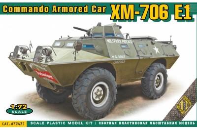 1/72 V-100 Vietnam Armored Car