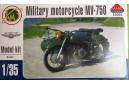 1/35 Military motorcycle Dnepr KMZ MV-650