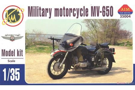 1/35 Military motorcycle Dnepr KMZ MV-750
