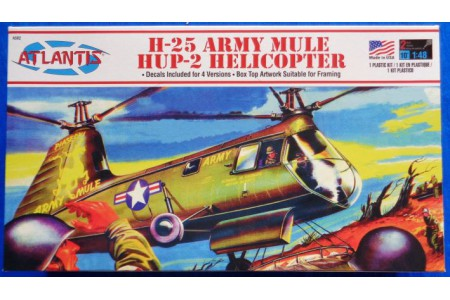 1/48 H-25 Army Mule Helicopter
