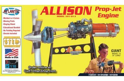 1/10 Allison Prop Jet 501-D13 engine