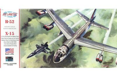 1/175 B-52 Stratofortress w/ X-15 NASA