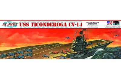 1/500 USS Ticonderoga Carrier CV-14
