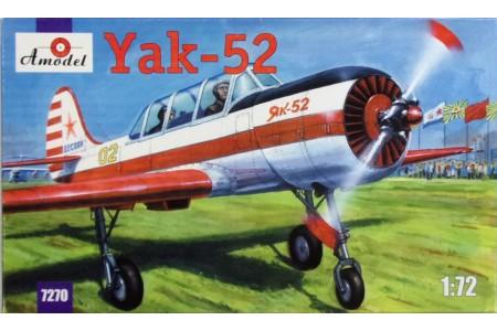 1/72 Yakolev Yak-52 modern trainer plane