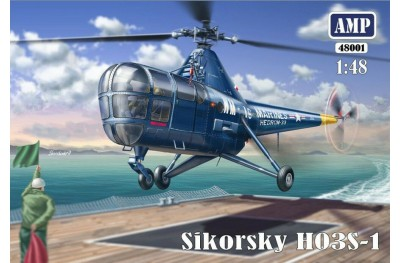 1/48 Sikorsky HO3S-1 Helicopter