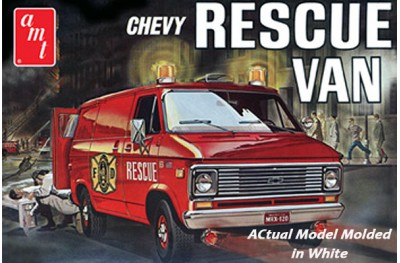 1/25 Chevy Rescue Van