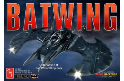 1/25 Batwing w/ motor and backdrop