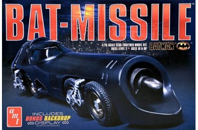 1/25 Bat missile w/ motor and backdrop