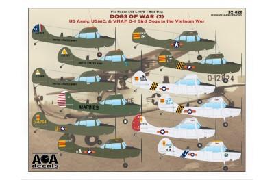 1/32 L-19 Bird Dogs in the Vietnam war decal