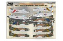 1/72 VNAF Skyraiders in the Vietnam war decal No. 2