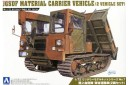 1/72 Japan army material carrier vehicle (2 kits)