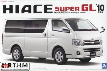 1/24 TOYOTA HIACE SUPER GL10
