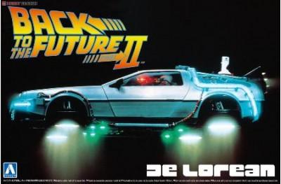 1/24 Back to Future De Lorean Part 2
