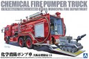 1/72 Chemical fire pumber truck with robot