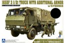 1/72 Japan army 3.5 ton truck w/ 7 figures