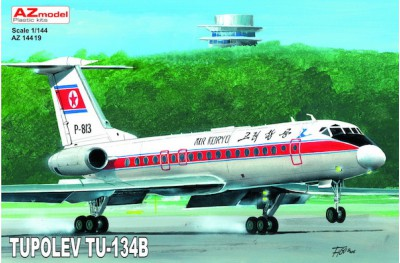 1/144 Tupolev Tu-134B North Korea