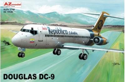 1/144 Douglas DC-9 Aero Colombia