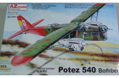 1/72 Potez 540 French bomber