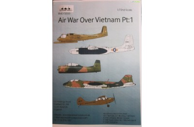 1/72 Air war over Vietnam decal P1