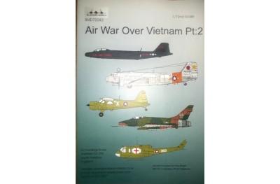 1/72 Air war over Vietnam decal P2