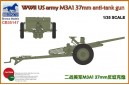 1/35 US army 37 mm anti tank gun