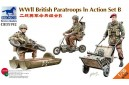 1/35 WWII British airborne troops in action set B