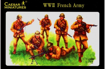 1/72 WWII French infantry