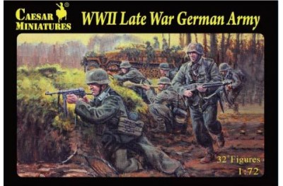 1/72 WWII Late War German army