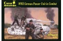 1/72 WWII German panzer unit in combat