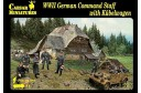 1/72 German command staff w/ Kubelwagen