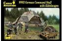 1/72 German command staff w/ Kubelwagen