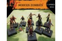 1/72 Modern zombies