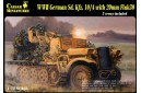 1/72 German Sdkfz 10/4 w/ flak 30