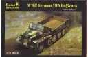 1/72 German SWS halftrack