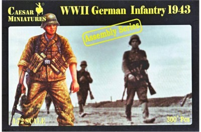 1/72 German infantry 1943 assembly series