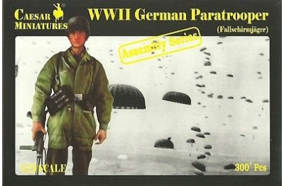 1/72 German paratrooper assembly series
