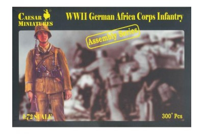 1/72 German Africa corps assembly series