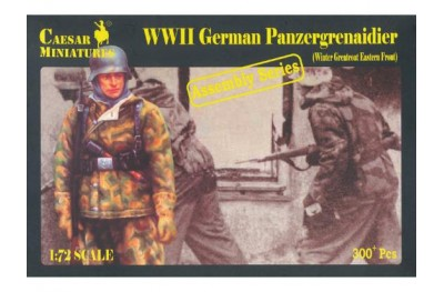 1/72 German panzergrenadier winter assembly series